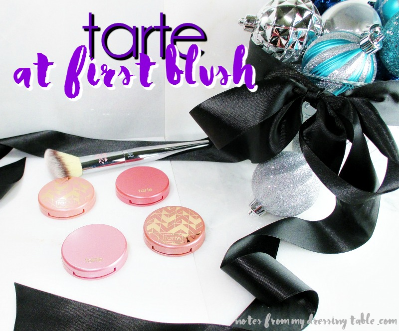 Tarte at First Blush Holiday Amazonian Clay Blush Set notesfrommydressingtable.com