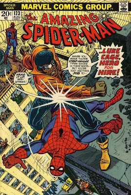 Amazing Spider-Man #123, Luke Cage, hero for hire