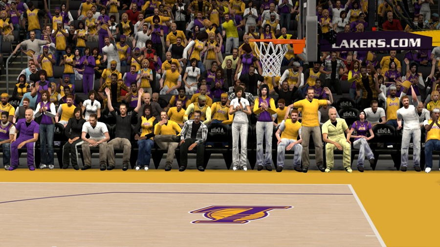 NBA 2K14 Enhanced Stadium Crowd Patch