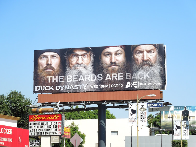 Duck Dynasty season 2 billboard