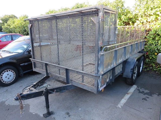 Commercial equipment & trailer painting at Almost Everything Auto Body