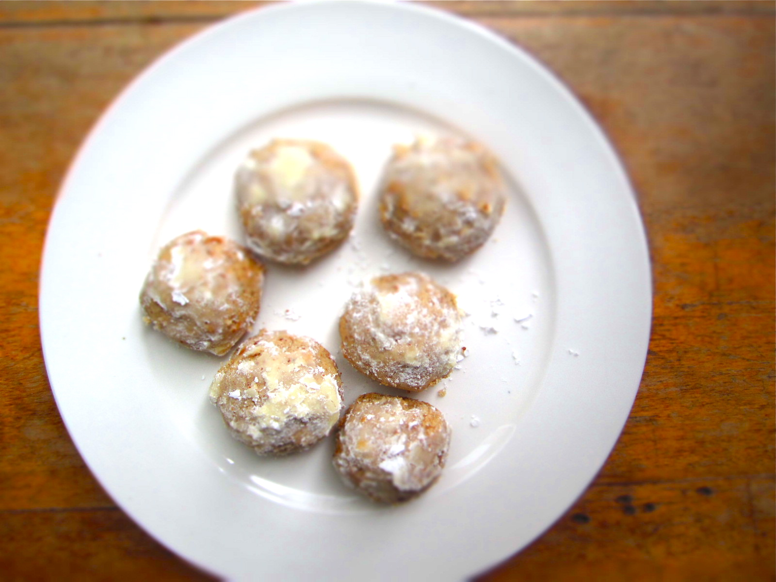 Pecan Butterballs (or Mexican Wedding Cookies)