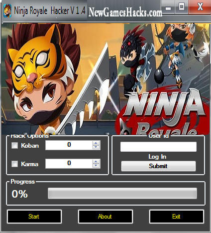 Ninja Royale Cheats Hack Tool for iPhone Android SUPER HACK