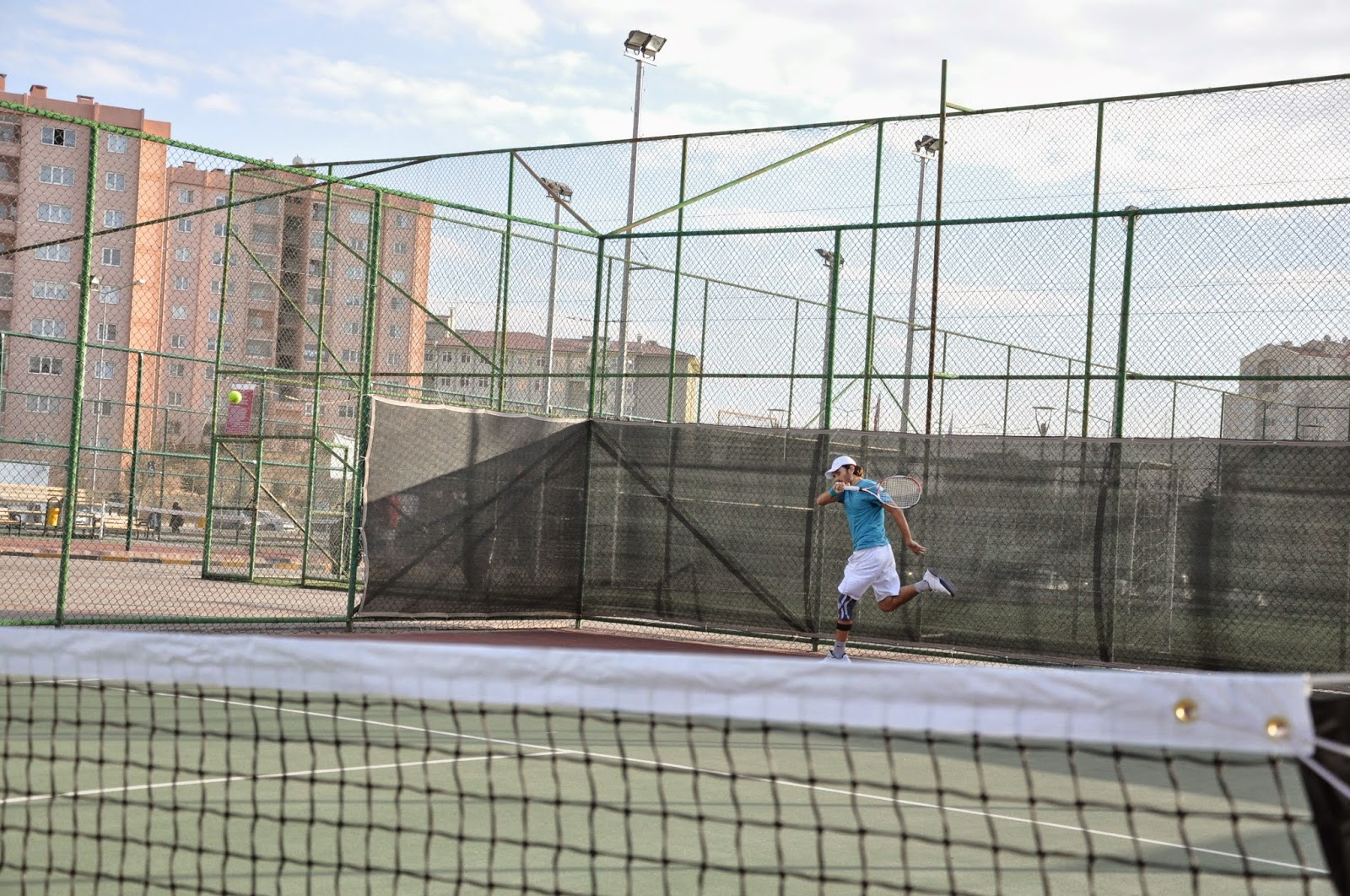 Halil Öztürk Tenis Forehand