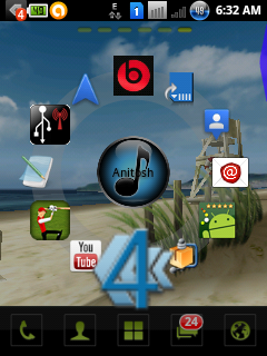 Customize your Android device Home Screen With Circle Launcher And Icon Pack