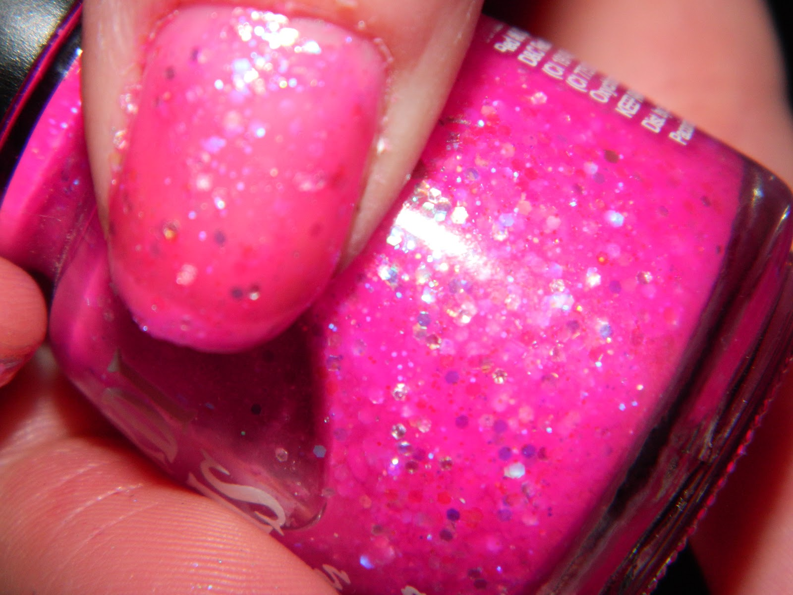 cutting edge polish : mardi gras nail polish, - hot pink
