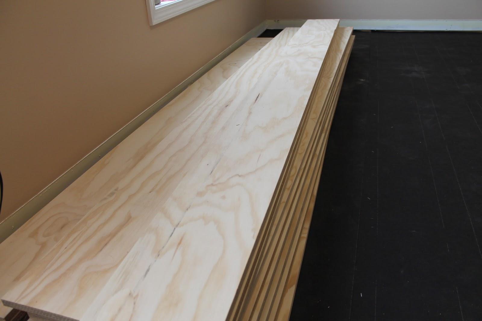 Diy plywood flooring an inexpensive hardwood alternative for Wood floor alternatives
