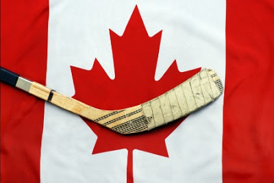Image result for canada day hockey