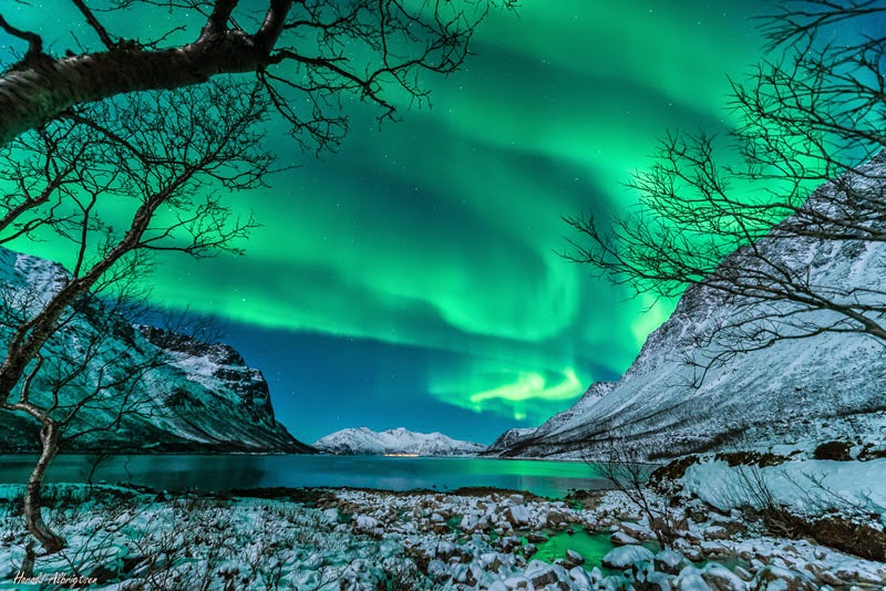 1. Tromsø, Norway - January 9, 2014 - 18 Stunning Green Auroras for St Paddy's Day