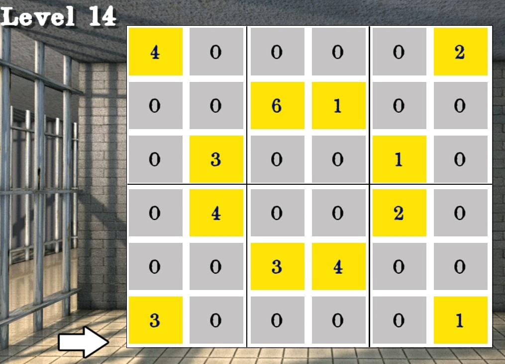 Solved 100 cells level 11 to 20 walkthrough for 16 door puzzle solution