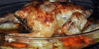 recetas de cocina pollo al horno estilo ingles