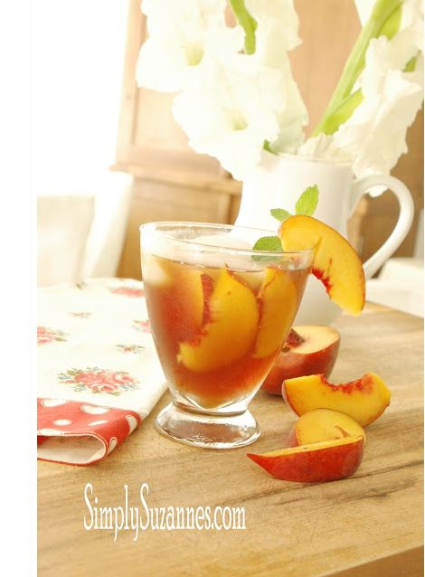 Summer Peach Tea