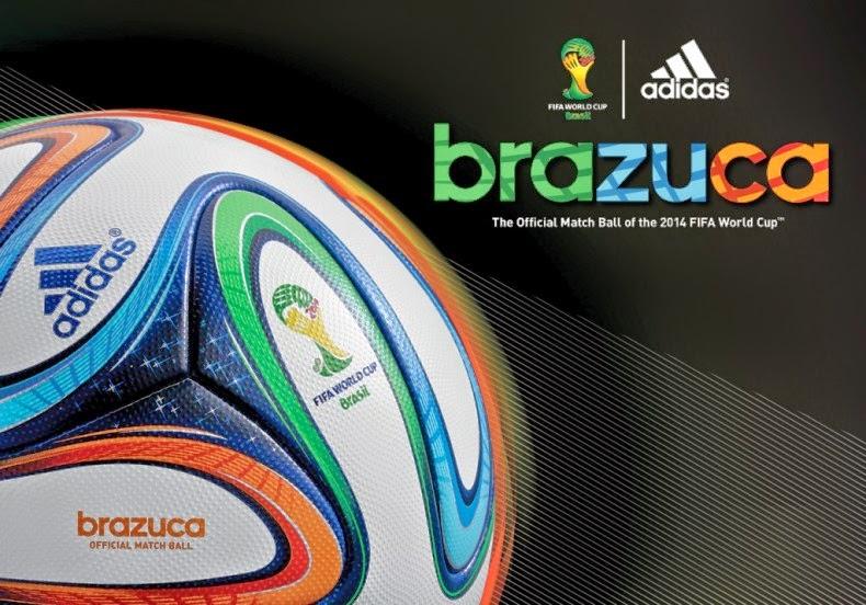 bola brazuca brasil 2014