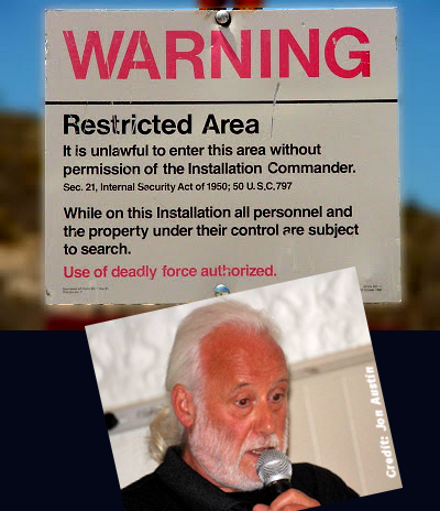 Author Abducted By Aliens Near Area 51?
