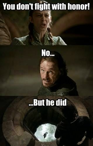 #GameOfThrones Best Bronn Quote