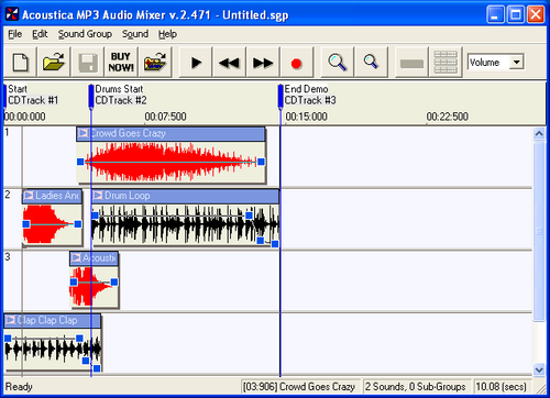 MP3 Audio Mixer | Mix music, sound effects, and even your ...