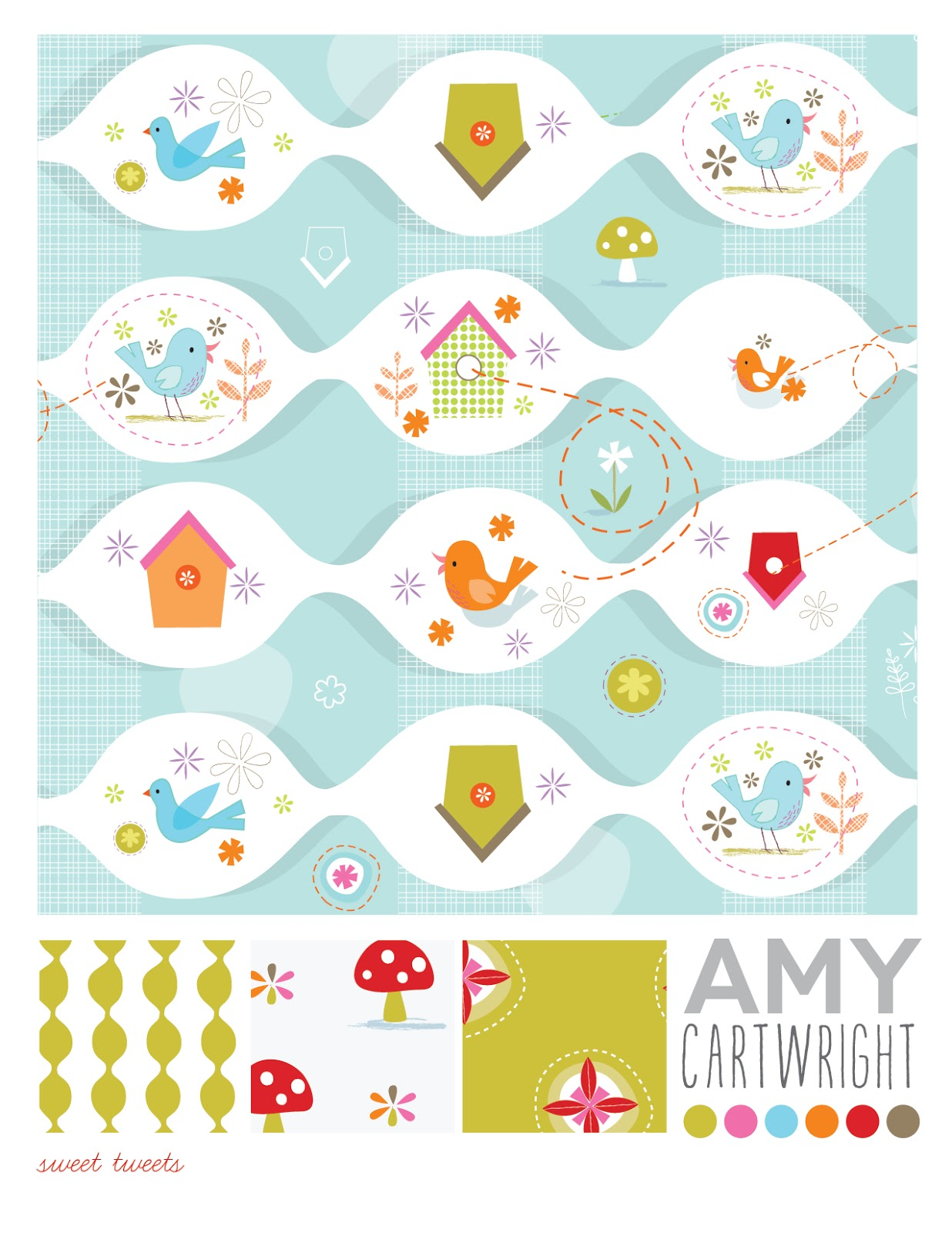 Amy Cartwright | Bird House Pattern