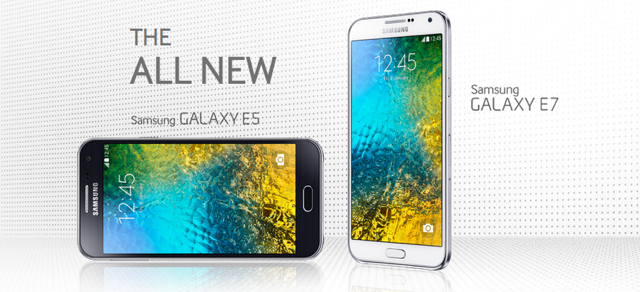 Samsung Galaxy E5, E7 Midrange Smartphones Offer Premium Experience Starting at P12,990