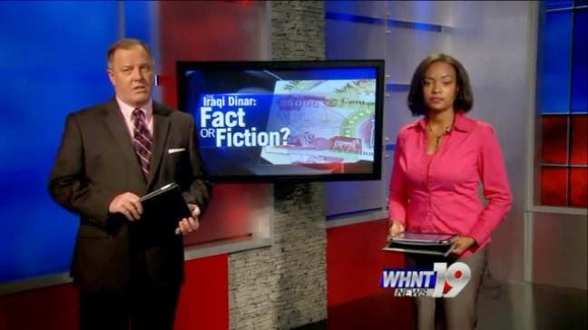 "3 - WHNT's ""Iraqi Dinar: Fact or Fiction?"" (5/11/2014) Whnt"