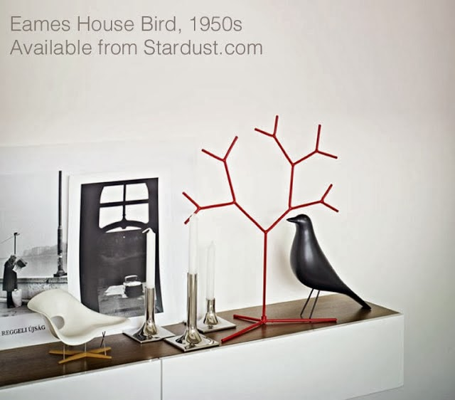 Eames house bird shelf