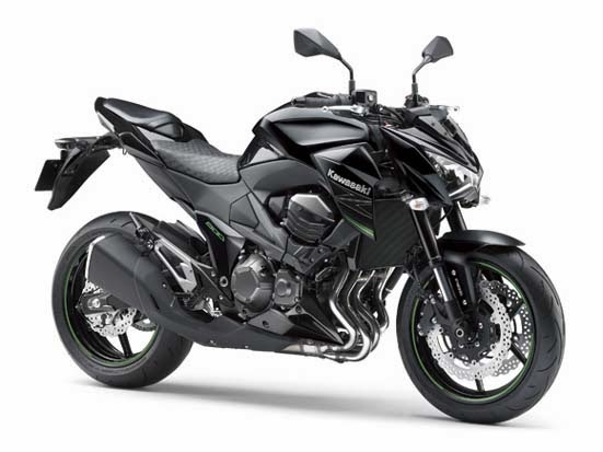 2014 Kawasaki Z800 black