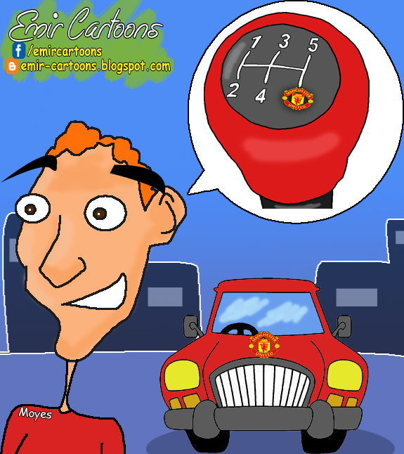 David Moyes,David Moyes united,David Moyes manchester united,David Moyes trener,football,football cartoon,cartoon,