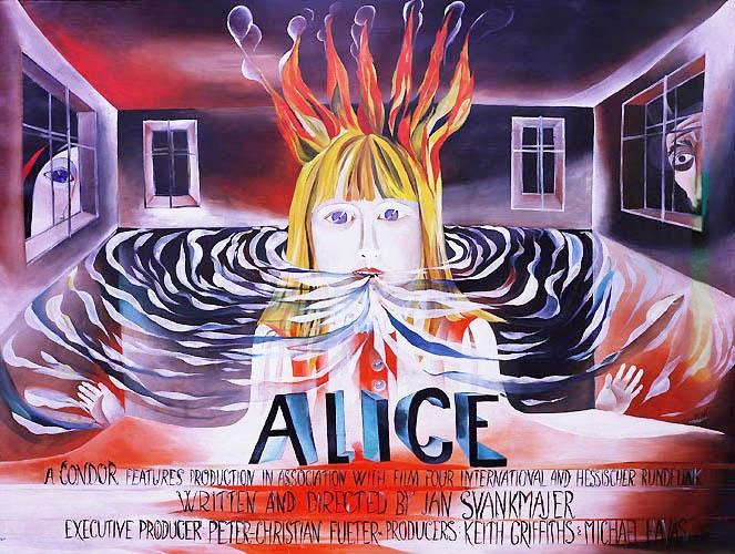 nuncalosabre.Alice (Neco Z Alenky) - Jan Svankmajer (1988)