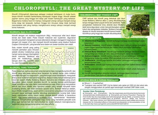 CMP (Chlorophyll Mint Powder)