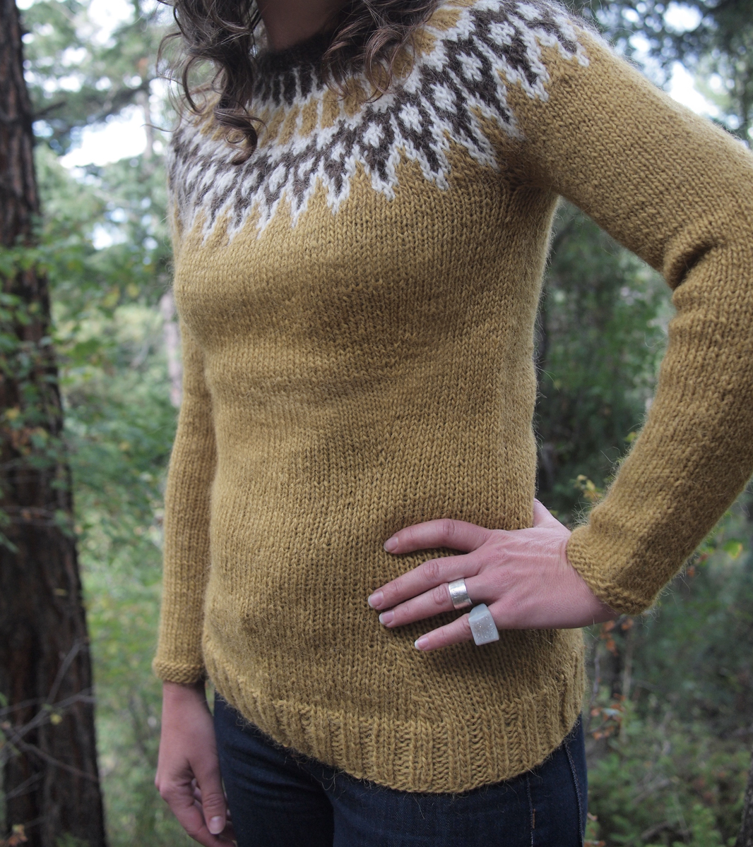 Fancy Tiger Crafts: Jaime\'s Icelandic Lopi Sweater