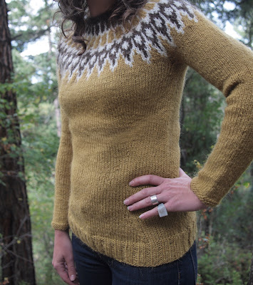 Icelandic Sweater Knitting Pattern : Fancy Tiger Crafts: Jaimes Icelandic Lopi Sweater