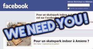Pour un skatepark indoor