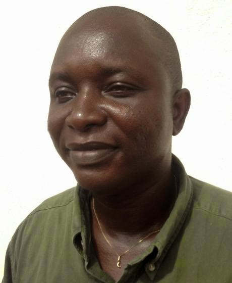 Sheik Umar Khan, head doctor fighting the deadly tropical virus Ebola in Sierra Leone in Freetown, June 25, 2014