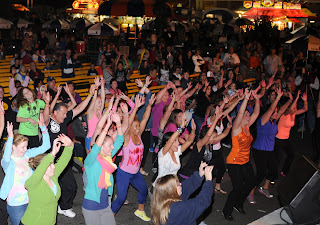 Zumba Flash Mob