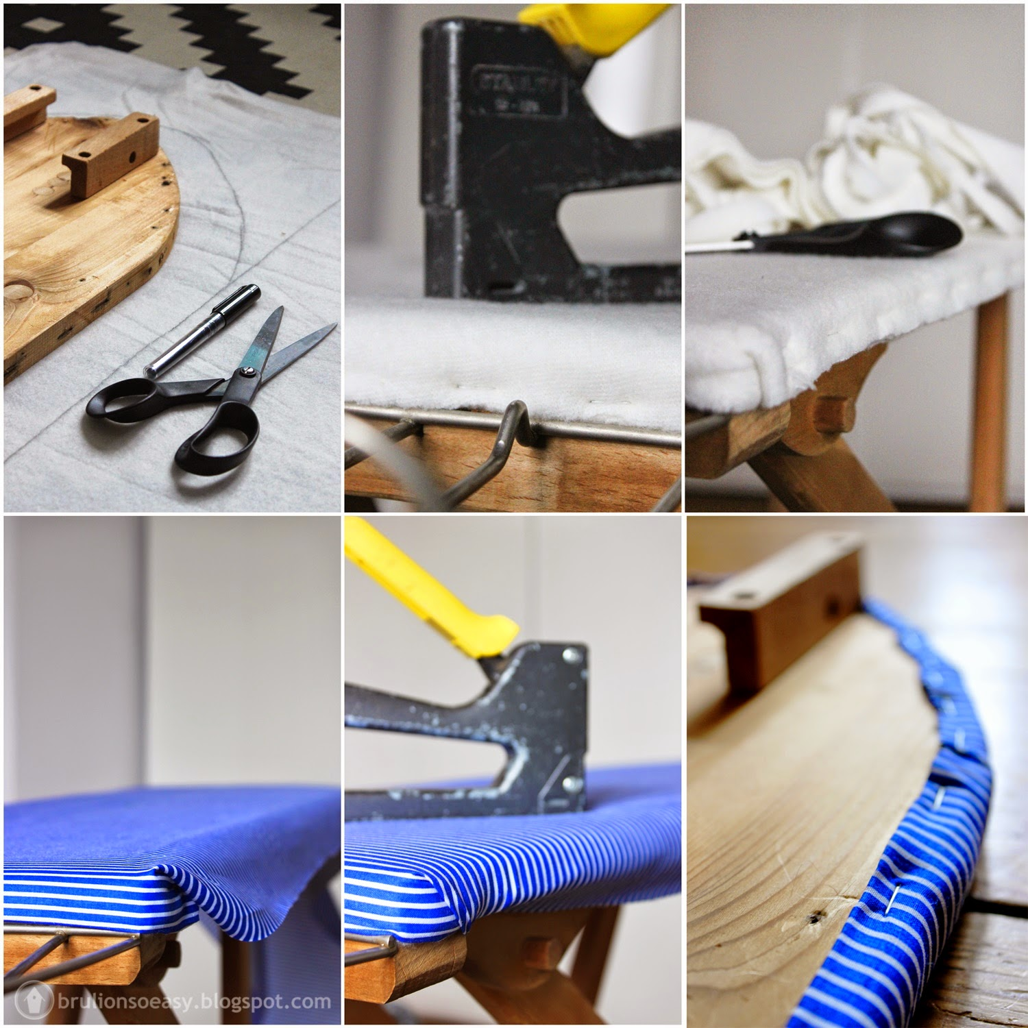 wood ironing board cover diy