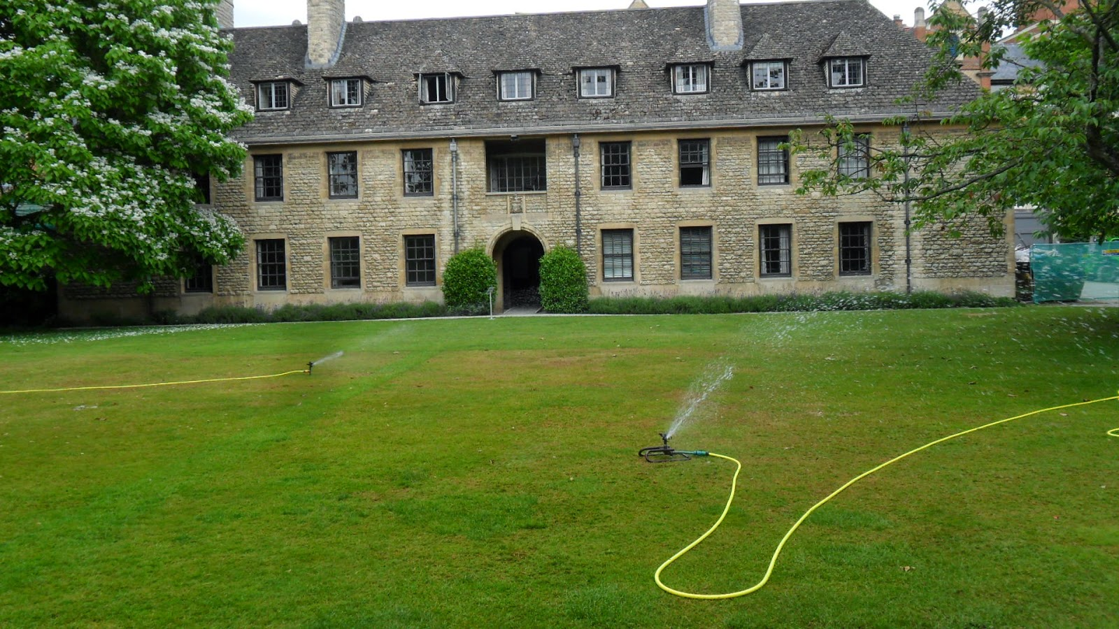 Worcester College Gardeners After The Ball