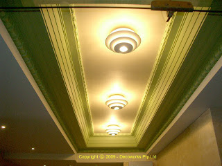 King Street foyer ceiling