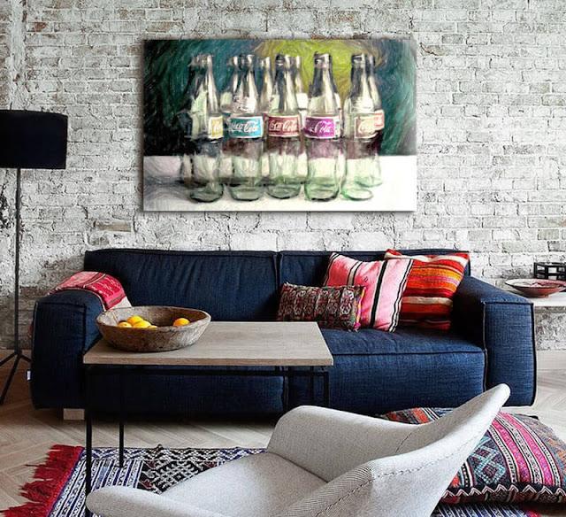 cuadros abstractos contemporaneos en tienda estudiodelier