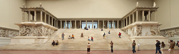 the Pergamon Altar at the Pergamon Museum| Where to go in Berlin - Travel Europe Guide