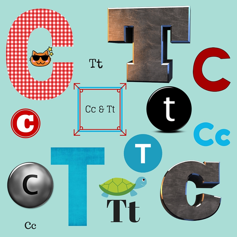 Learning Littles: Tt and Cc and numbers 1-6