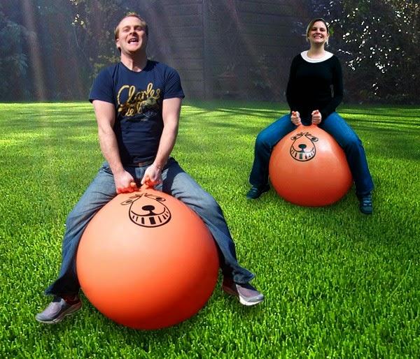 Bola de Goma Gigante con Cuernos