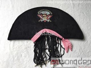 bán nón cướp biển caribe
