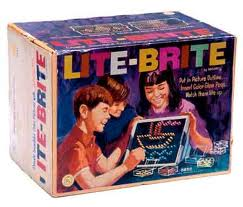 picture regarding Lite Brite Free Printable Patterns known as Sparkling Lite Brite: Obtain Free of charge Lite Brite Templates With