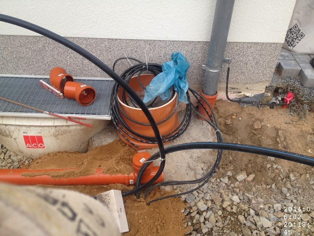 HuM's Baublog: Arbeitseinsatz Carport-Fundament