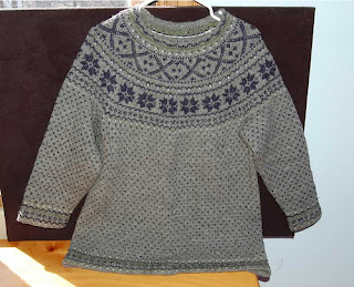 Angela's Nordic sweater