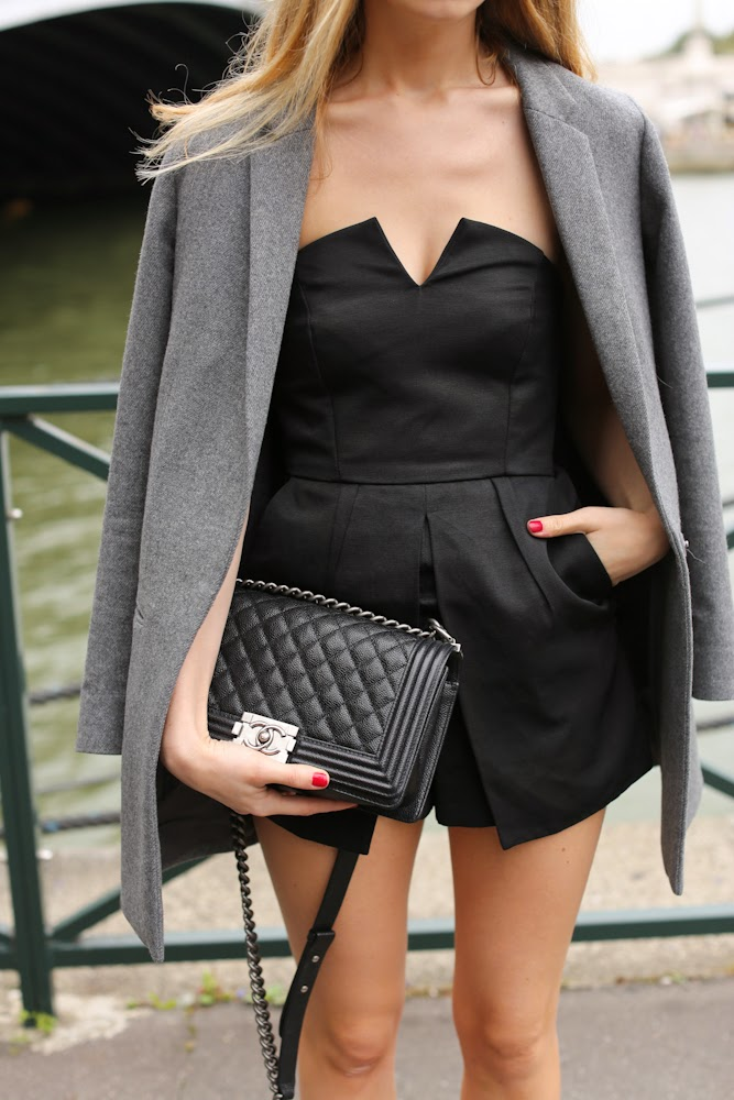 topshop, cos, alexander mcqueen, maison michel, chanel, fashion blogger, streetstyle, paris, outfit, dressing up