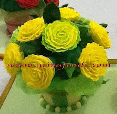 Cup Cake Flower Bouquet