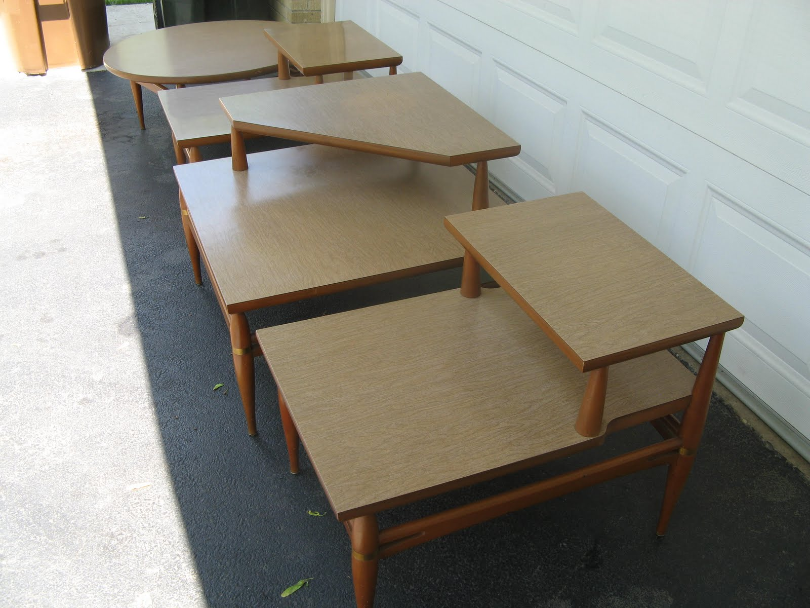 Midcenturymodernmania beautiful 4 piece set of for 4 piece living room table set