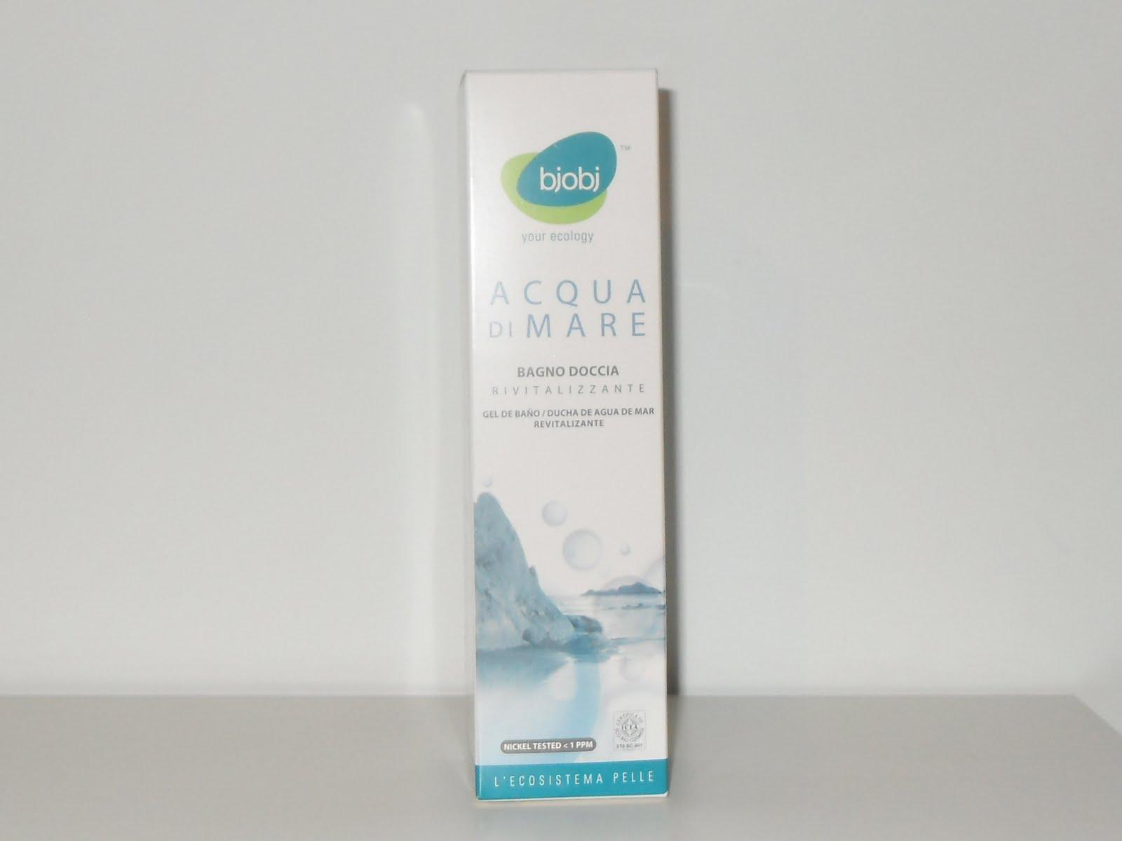 Bagnoschiuma Bio : La vetrina del bio: bagnoschiuma allacqua di mare bjobj