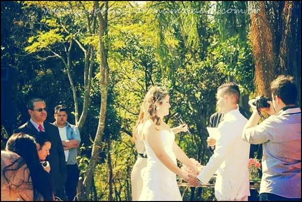casamento na chácara