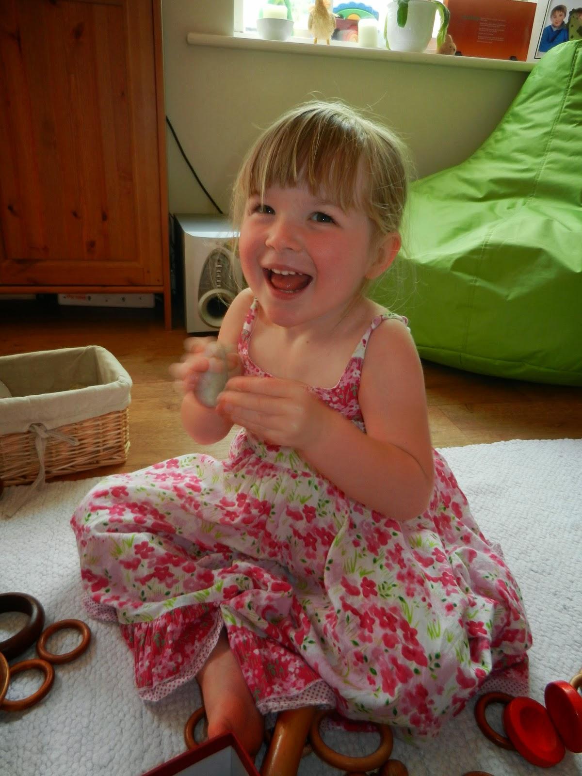 loose parts and sensory play